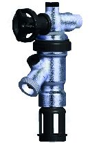 Braukmann Backflow Preventer with integrated shut-off facility, BA295D-AS/ASC