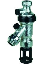 Braukmann Retrofit Backflow Preventer for tap fittings and armatures, BA295D-WH/WHS/WHD