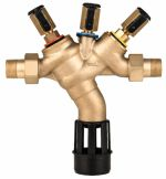 Braukmann Backflow Preventer Compact construction with threaded connectors, BA295S-LF