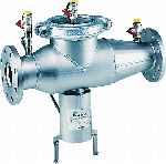 Reduced-pressure-zone backflow preventer with flange connections - Industrial model, BA298I-F