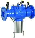 Braukmann Backflow preventer with flanged connections, BA300