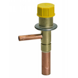 Series CVC, HLE -  Hot gas bypass valves with fixed orifice, internal pressure equalisation and adjustable suction pre