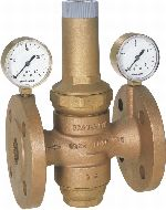 Riduttore di pressione con sede bilanciata flangiato per bassa pressione, D16N