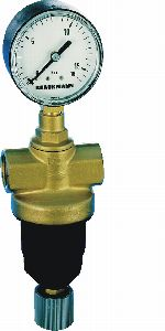 Standard pattern pressure reducing valve for compressed air with piston balanced seat, D22