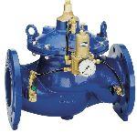 Druckregler DR300, mit Flanschanschluss für große Wassermengen