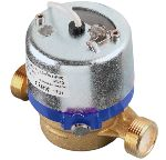 EW105 Singlejet Pulse out Water Meters DN15...20