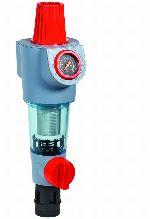 Braukmann Filtry do wody z płukaniem wstecznym, z regulatorem, bez łącznika obrotowego