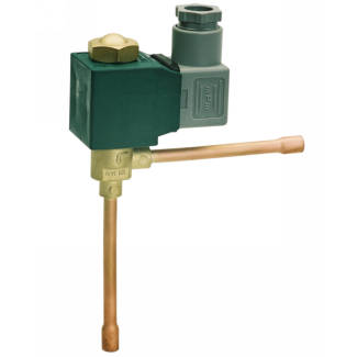 Series M - Complete solenoid valve for 230 V AC (normally closed)