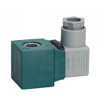 Series M - Coils with connector - Part program for AC and DC solenoid valve applications (normally closed)