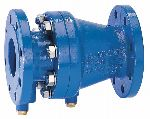 Braukmann Controllable anti-pollution check valve with flanges, RV283P