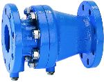 Braukmann Controllable anti-pollution check valve with flanges, RV283S