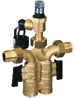 Safety group with interchangeable safety valve insert, SG160S
