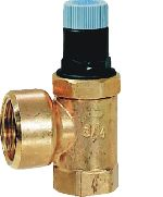 Diaphragm safety valve for closed water heaters, SM152