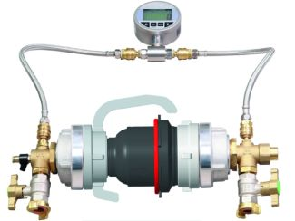 Test set for fire department backflow preventer - for Germany only
