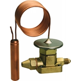 TMX, interchangeable orifice, flare or solder, adj. superheat, ext. press. eq, balanced port