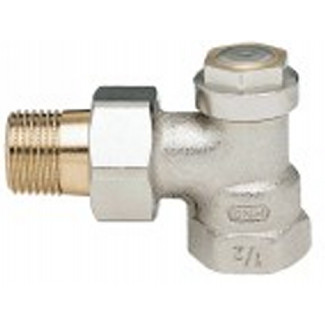 Verafix-MES-II, Lockshield valve with measuring facility (V2410)