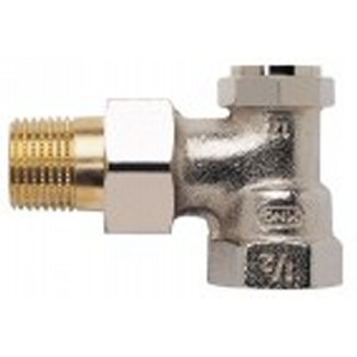 Verafix-E, presettable and drainable lockshield valve