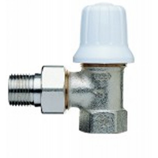 Mira-3 (V2605) Manual radiator valve, convertible to thermostatic operation