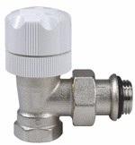 Válvula de radiador termostatizable serie VENUS (V310)