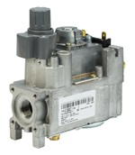 Gas Control Valve Compact basic, On/off with regulator V46.. V86.. A,C