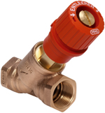 V5000 Kombi-3-plus RED Fixed Orifice Measuring Valve