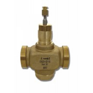 Two-way control valve PN16, external threaded connections DN15-50, V5011E
