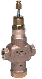 Two-way control valve PN16, threaded connections DN15-50, V5011R,S