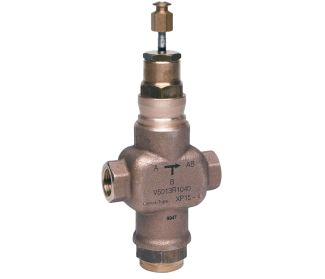 Three-way control valve PN16, threaded connections DN15-50, V5013R