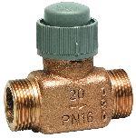 Válvula de control de 2 vías PN16, de asiento DN15/20, V5832A