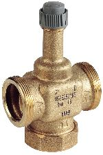 Two-way control valve PN16, flat sealing DN25-40, V5832B