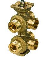6-Wege-Ventil für 4-Rohr-System